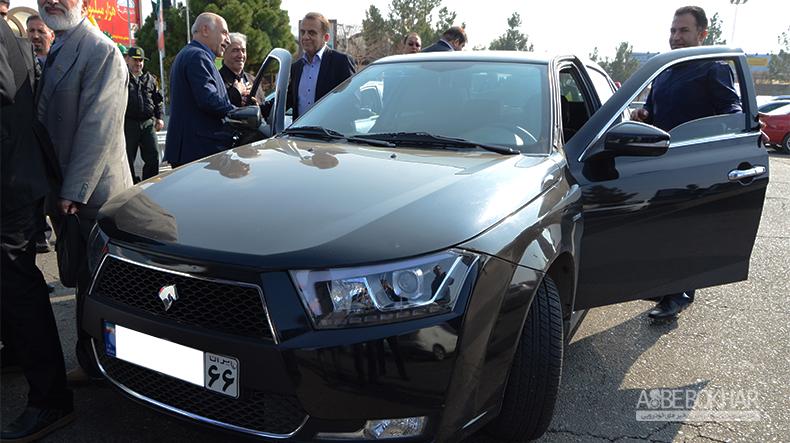 مدیرعامل ایران خودرو سوار بر دنا پلاس