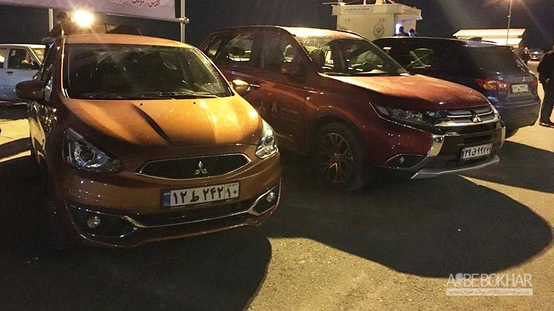 تحویل فوری و اقساط 24 ماهه بدون سود محصولات میتسوبیشی در نمایشگاه خودرو اهواز