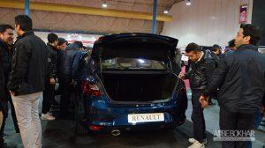 مگان جدید در نمایشگاه خودرو گرگان