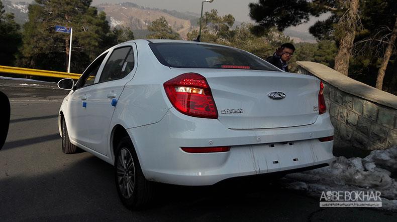 چری E3 محصول آینده مدیران خودرو در ایران+تصویر