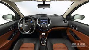 جیلی GC6 امگرند به خط تولید خودروسازان بم می آید