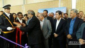 افتتاح خط تولید انبوه جیلی در خودروسازان بم