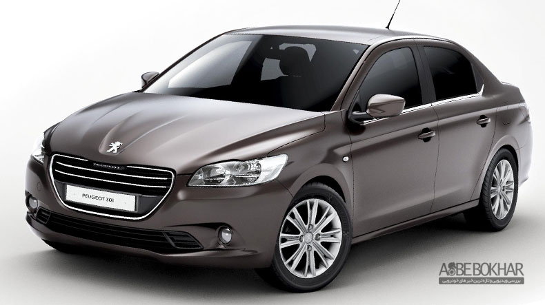 مرحله جدید فروش نقدی پژو 301 از سوی ایران خودرو