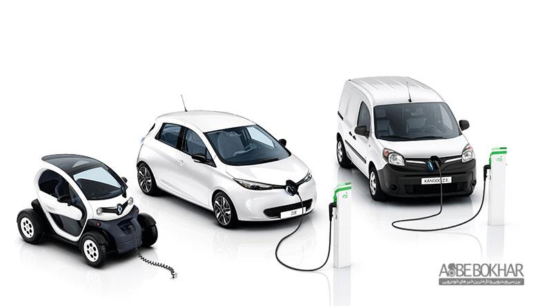 رشد 38 درصدی رنو در بازار خودروهای برقی در سال 2017