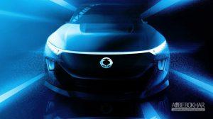 خودروی الکتریکی خودران e-SIV سانگ یانگ معرفی شد