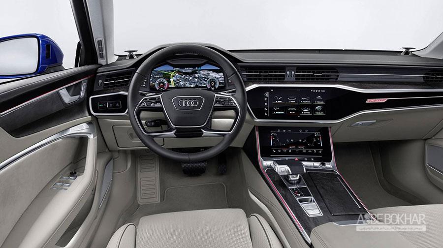 آئودی A6 Avant،تلفیقی از زیبایی و تکنولوژی