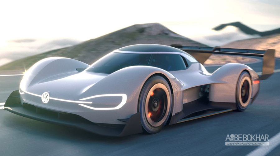 معرفی خودروی مسابقه برقی فولکس واگن با نام I.D. R Pikes Peak