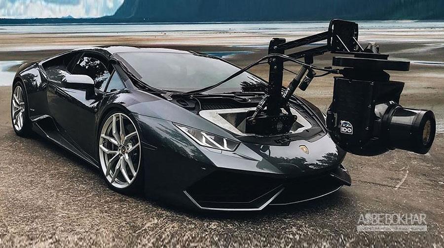 معرفی سریعترین خودروی فیلمبرداری