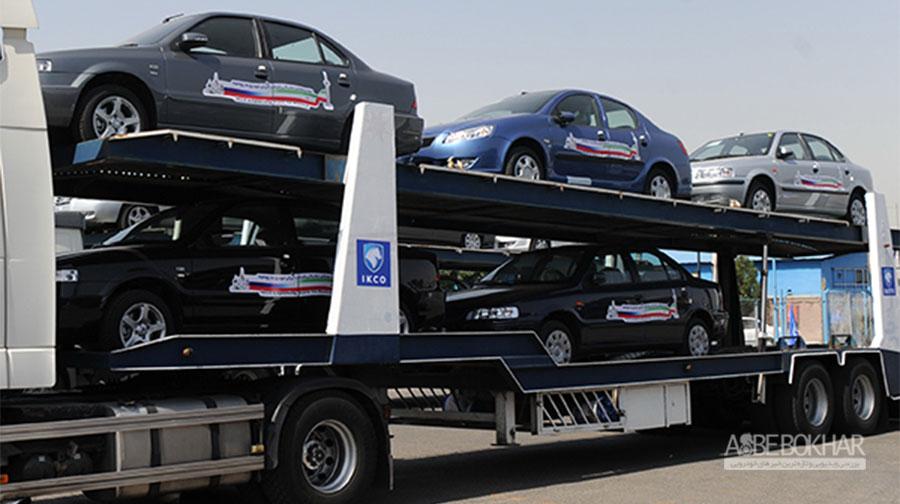 صادرات 6 هزار دستگاه محصولات ایران خودرو به عراق