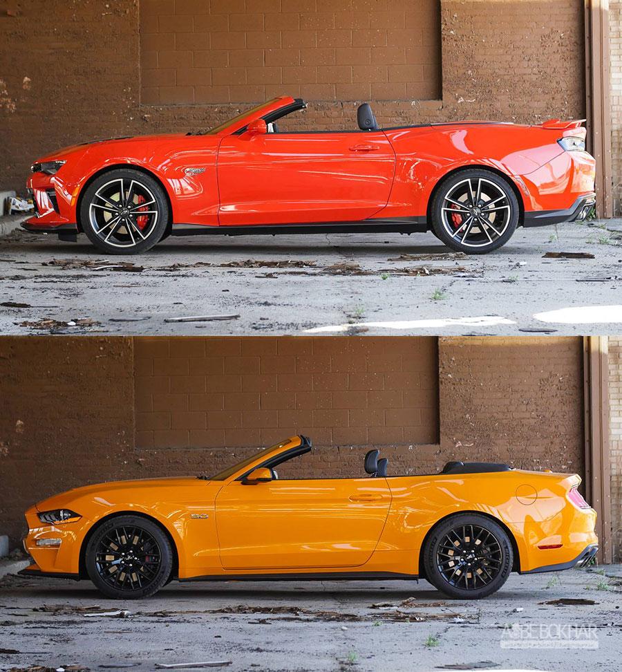 موستانگ GT یا کامارو SS؛ تقابل دو کروک V8 آمریکایی