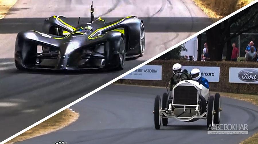 نبرد دو خودرو از دو نسل متفاوت + ویدیو