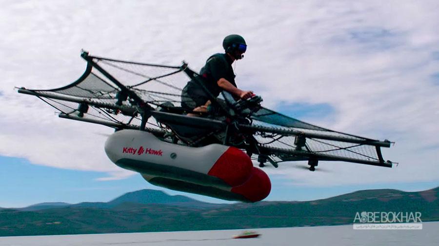 سرمایه گذاری مدیر اجرایی گوگل روی خودروهای پرنده + ویدیو