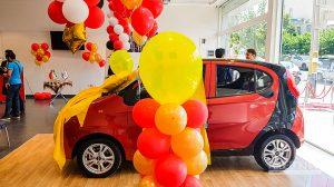 ام وی ام ۱۱۰، جایزه برنده خوش شانس مراسم قرعهکشی مدیران خودرو