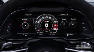 طراحی جدید و قدرت بیش تر برای Audi R8 تازه وارد