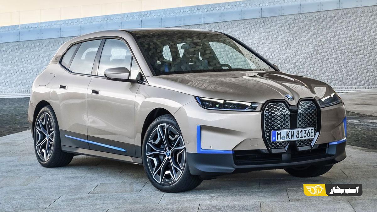 ب ام و iX مدل 2022 رونمایی شد | اسب بخار | مرجع تخصصی اخبار و ویدیوی خودرو