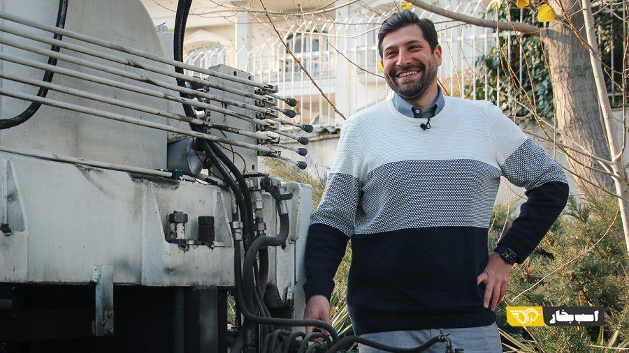 کامیونت ایسوزو امدادخودرو ایران