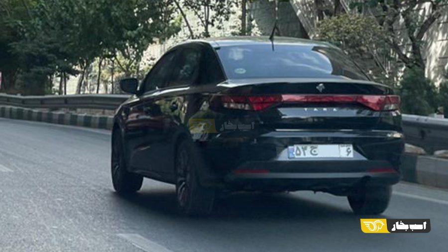 ایران خودرو تارا دنده ای با رینگ آلومینیومی جدید